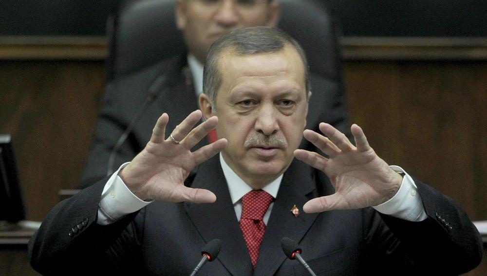 Recep Tayyip Erdogan, primer ministro de Turquía