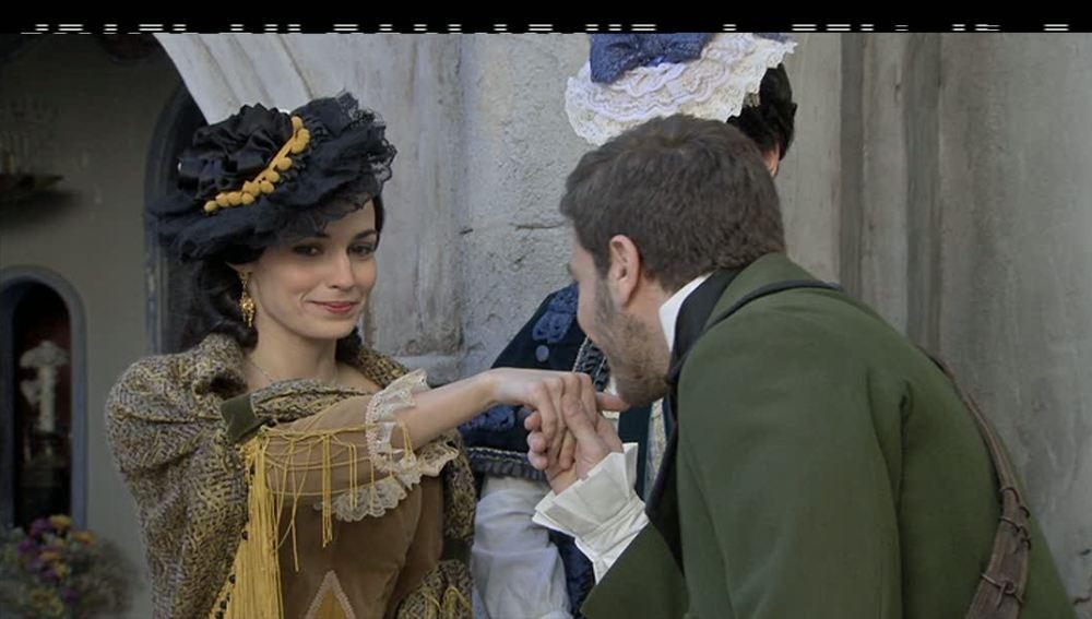 Eugenia se queda prendada de Antonio