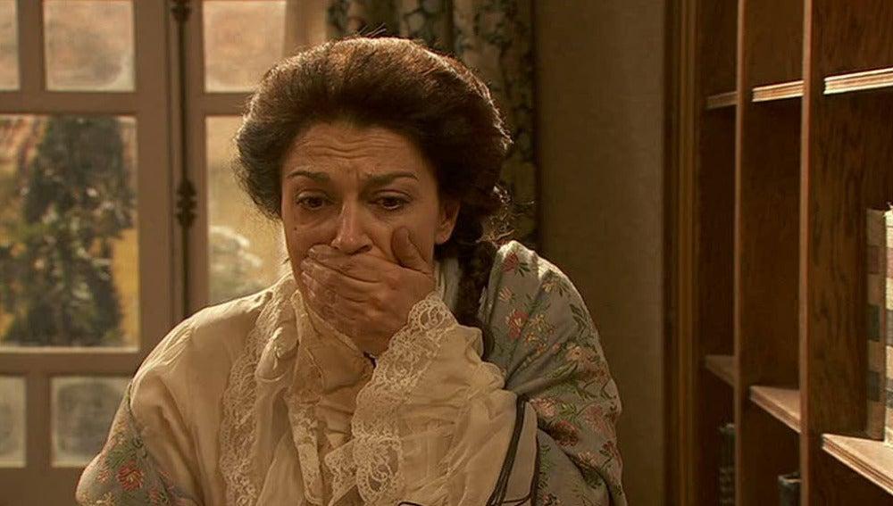 Francisca descubre a Juan y Soledad