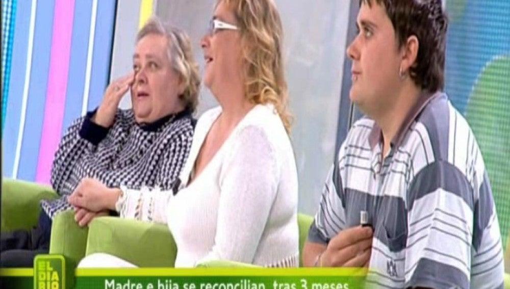 Jonathan, Juliana y María en El Diario