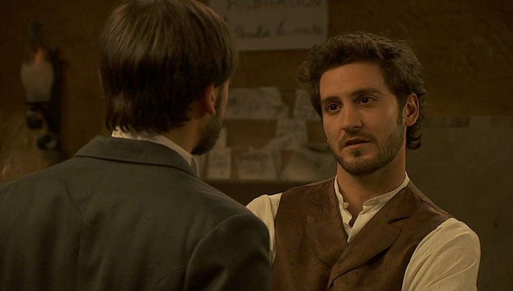 Tristán conoce a Alberto