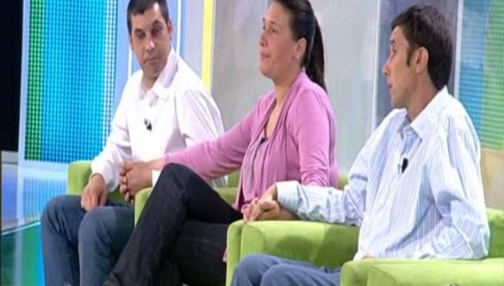 Trini, Juan Antonio y Alfonso en El Diario