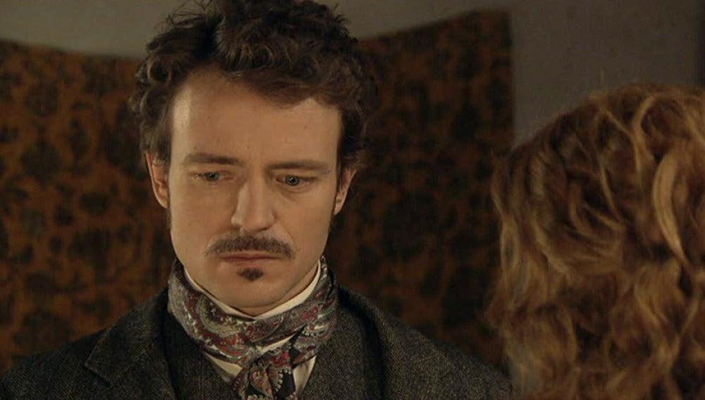 Albert confiesa a Sara que está enamorado de otra.