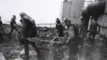 Los 'liquidadores' de Chernobil