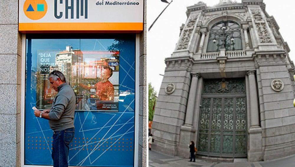 El Banco de España planea trocear la CAM