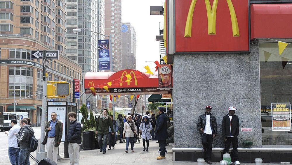 Un McDonald's en Nueva York