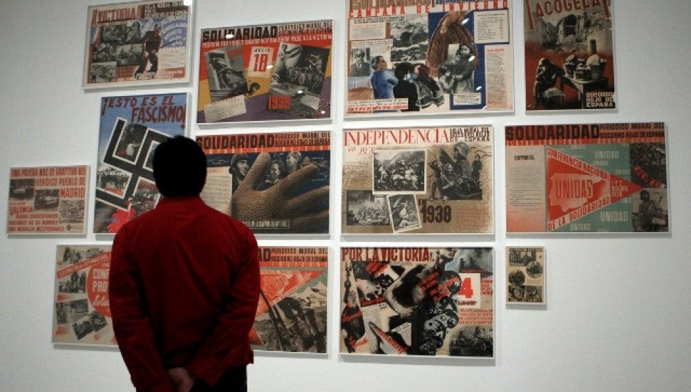 Exposición de fotografía en el Reina Sofía