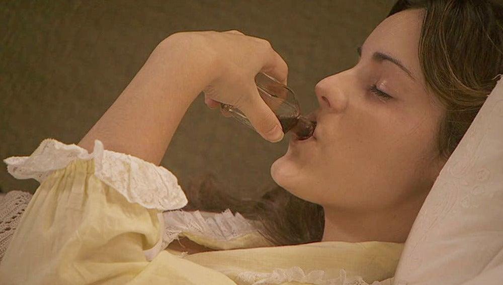 Soledad se bebe todo la infusión para empeorar