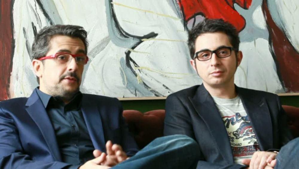 Buenafuente y Berto con Arguiñano
