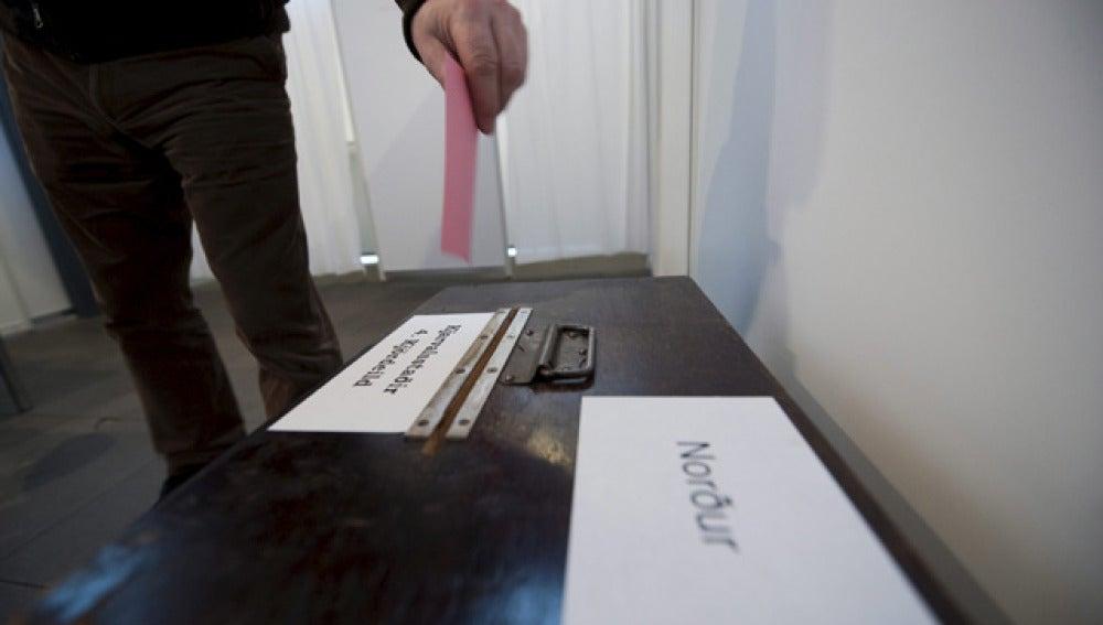 Voto en Islandia