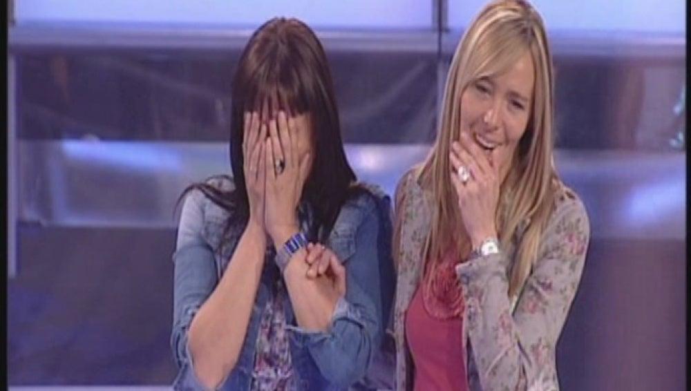 Olga y Natalia en Atrapa un millón diario