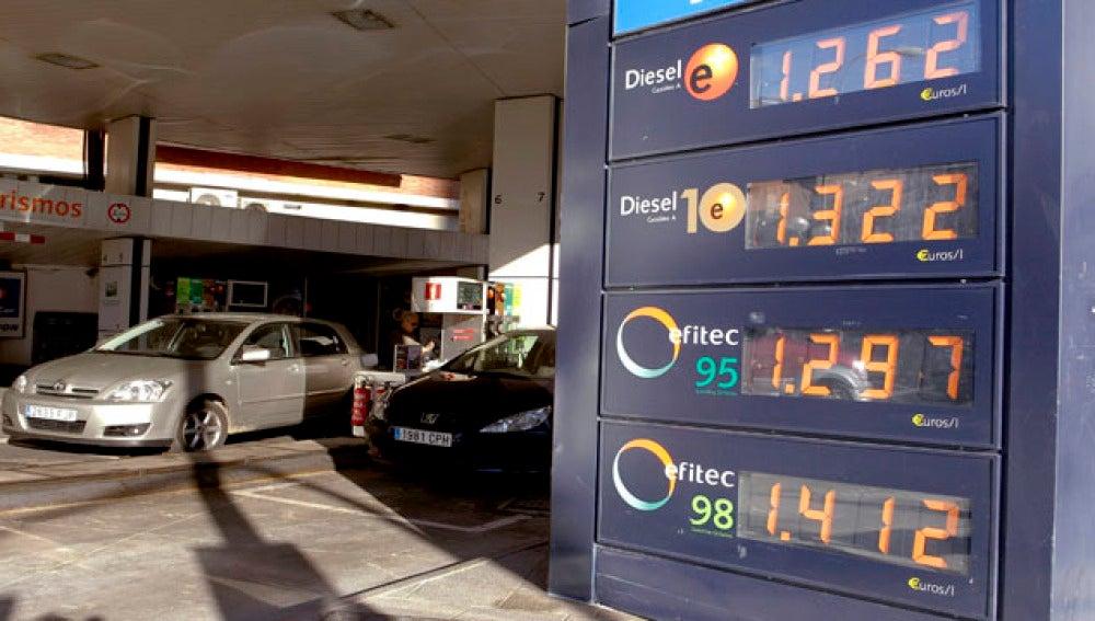 Los precios de los carburantes se verán afectados por tercera semana consecutiva