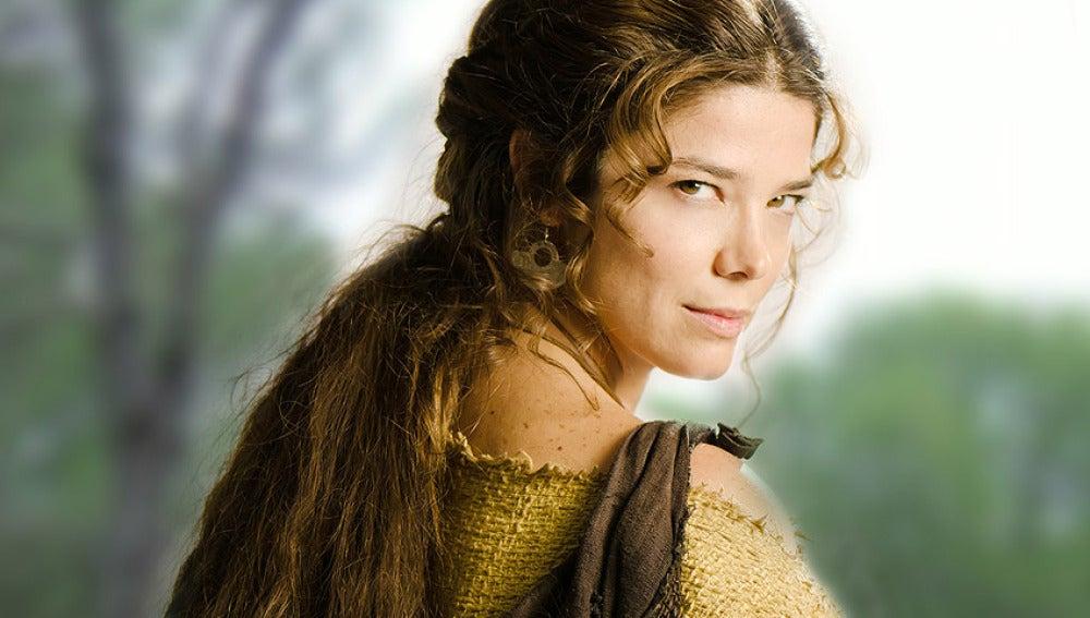 Juana Acosta es Aldara en Hispania, la Leyenda
