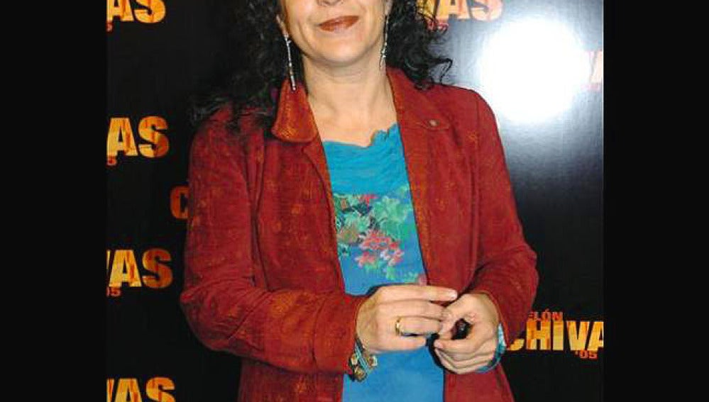 Helena Pimenta,en la presentación de un evento teatral.