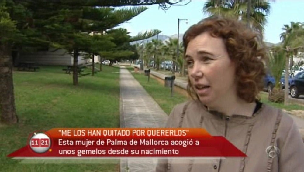 Mujer en Palma