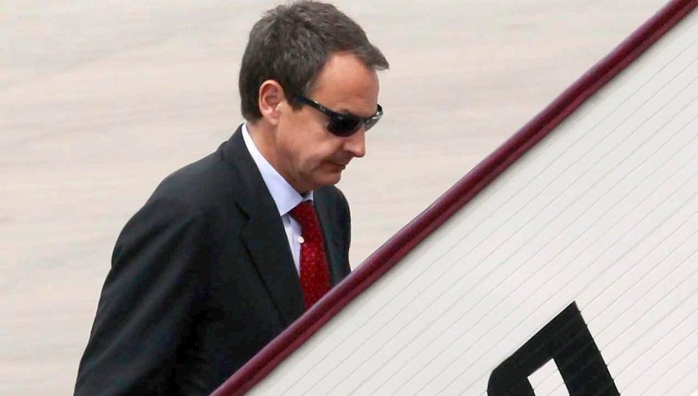 El presidente del Gobierno, José Luis Rodríguez Zapatero en Singapur