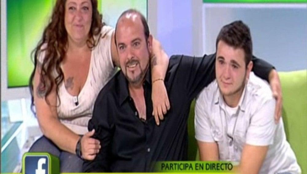 Toñi, Ignacio y Gregorio en El Diario