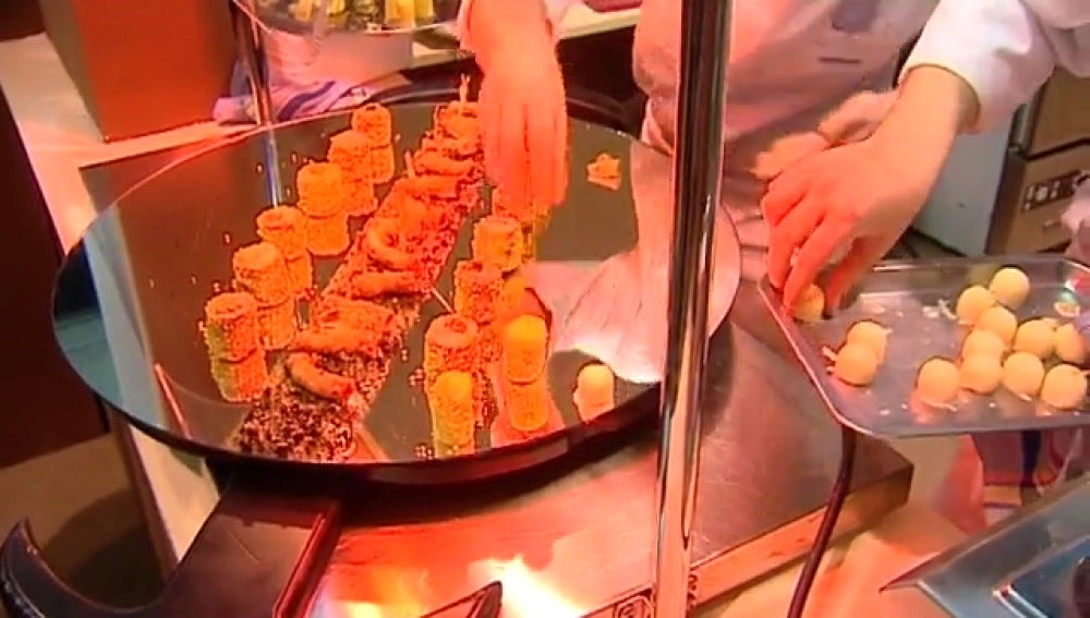 Preparación de un plato de cocina