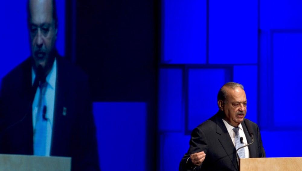 Carlos Slim, dueño de América Móvil