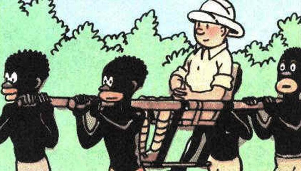 """Bélgica estudia la retirada del cómic """"Tintín en el Congo"""""""