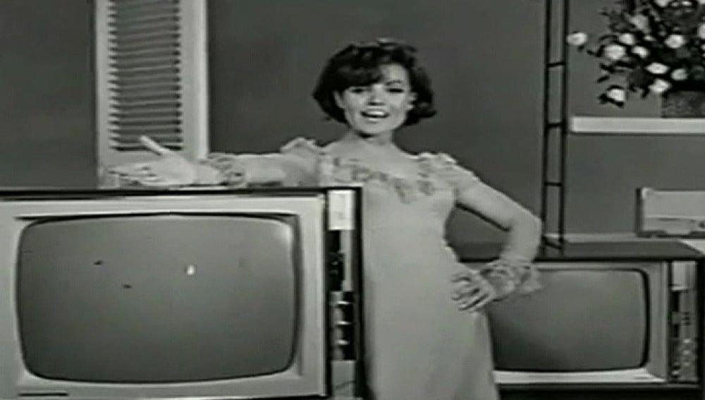 Carmen Sevilla en el anuncio de Philips