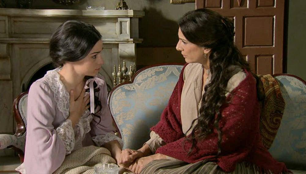 Carmen visita a Eugenia y le pregunta por su hijo