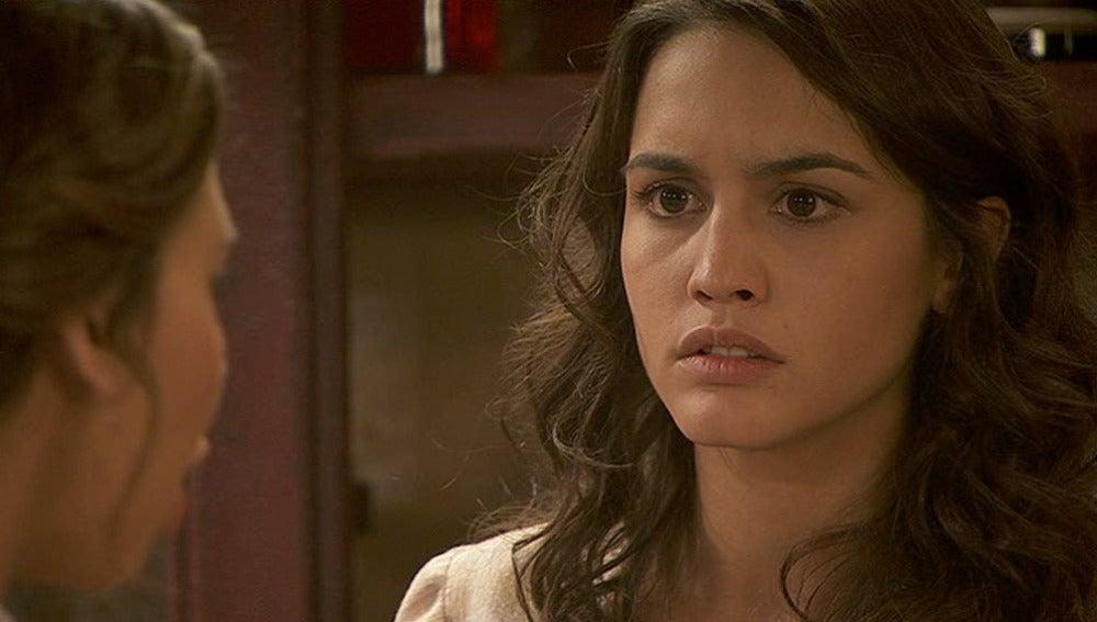 Francisca anuncia a Pepa que acaba su trabajo en la Casona