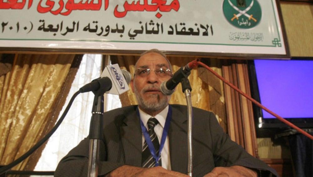 Mohamed Badía, el líder espiritual del grupo ilegalizado Hermanos Musulmanes.
