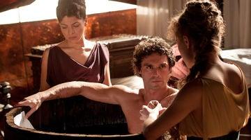 Fabio, Sabina y Gaia