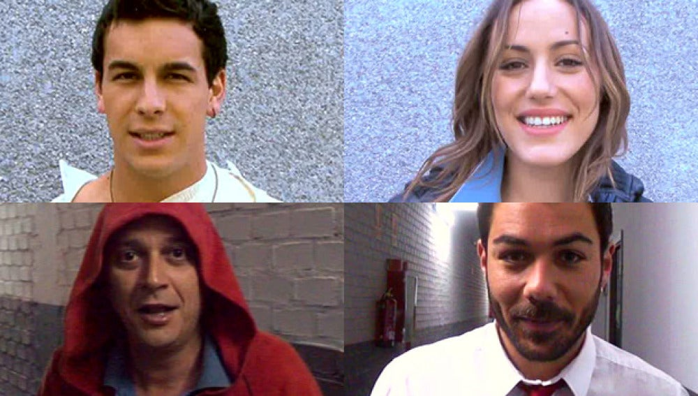 Los actores de El Barco despiden la temporada