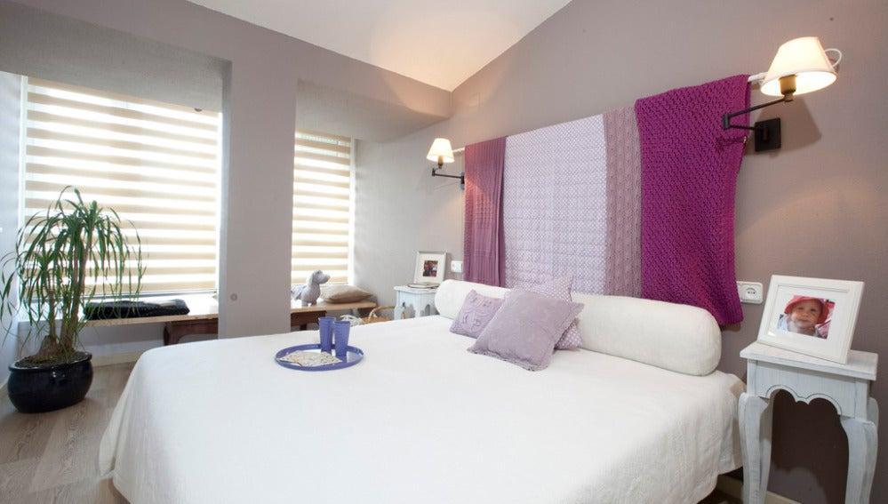 Dormitorio íntimo y personal