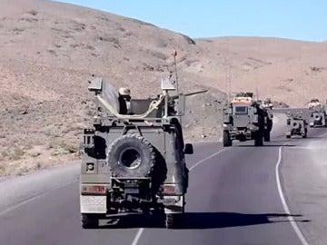 Blindados españoles en Afganistán