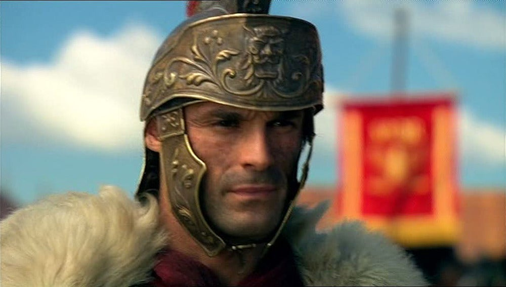 Fabio llega al campamento romano