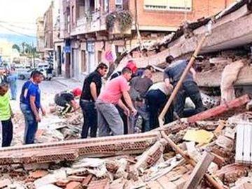 Terremotos en Murcia y Lorca