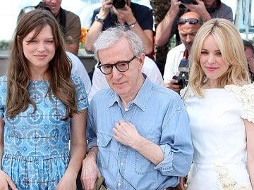 Lea Seydoux, Woody Allen y Rachel McAdams