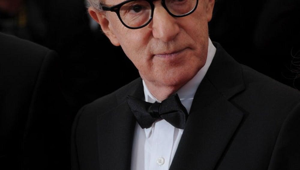 El director de cine Woody Allen no quiso perderse el festival de Cannes