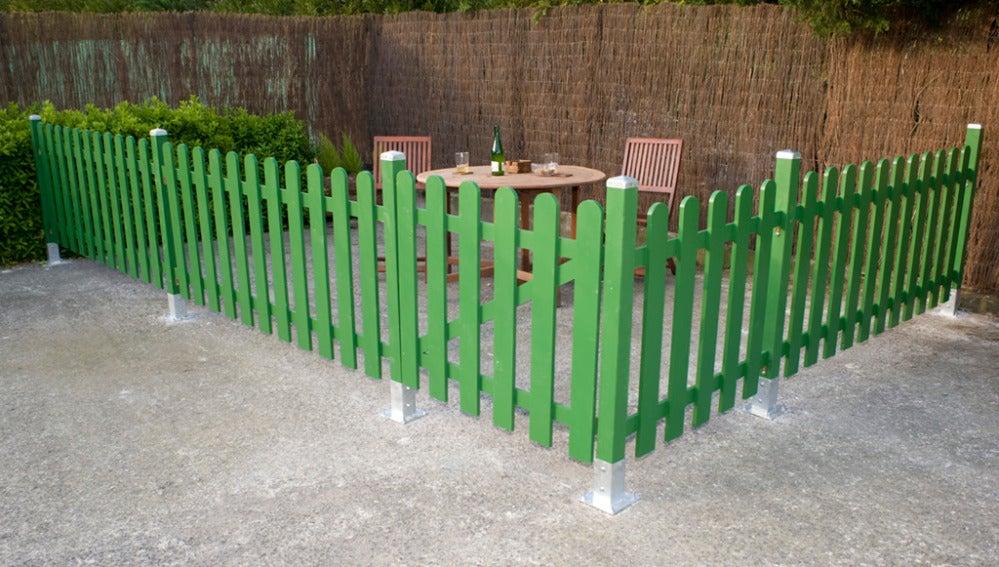 Aprende a instalar un cercado de madera