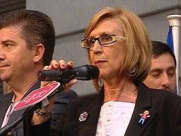 Rosa Díez, presidenta de UPyD
