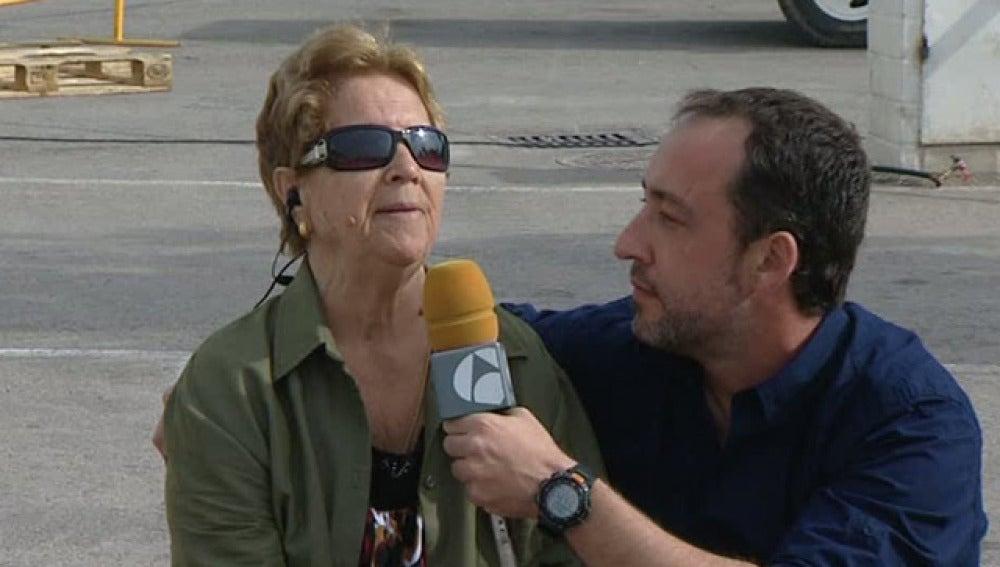 Espejo Público habla con una invidente