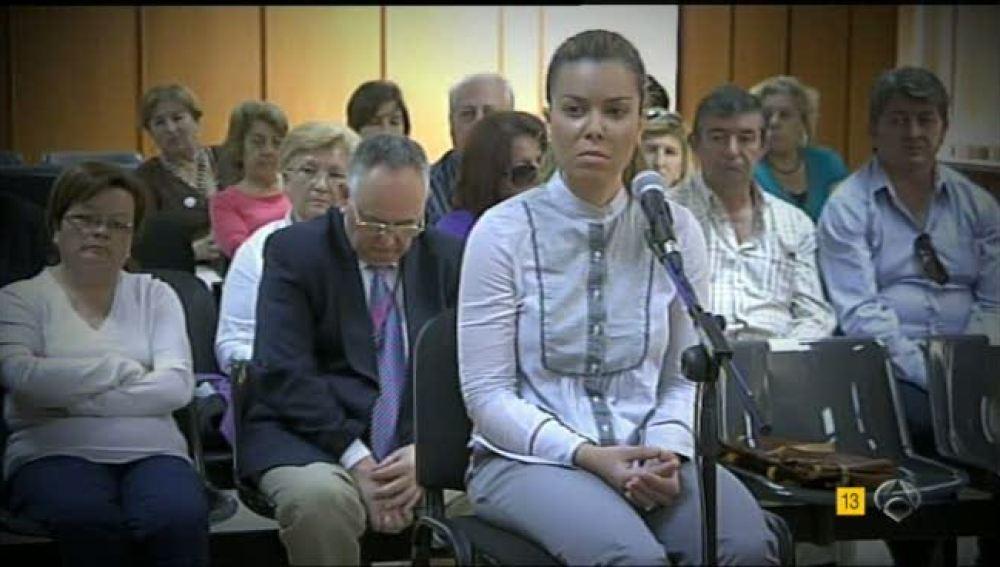María José Campanario declara en el juzgado