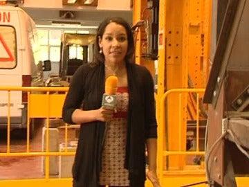 Antena 3 en un laboratorio de riesgo sísmico