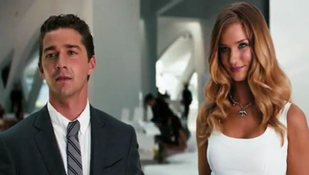 Shia LaBeouf y Rosie Huntington-Whiteley, los protas de 'Transformers 3'