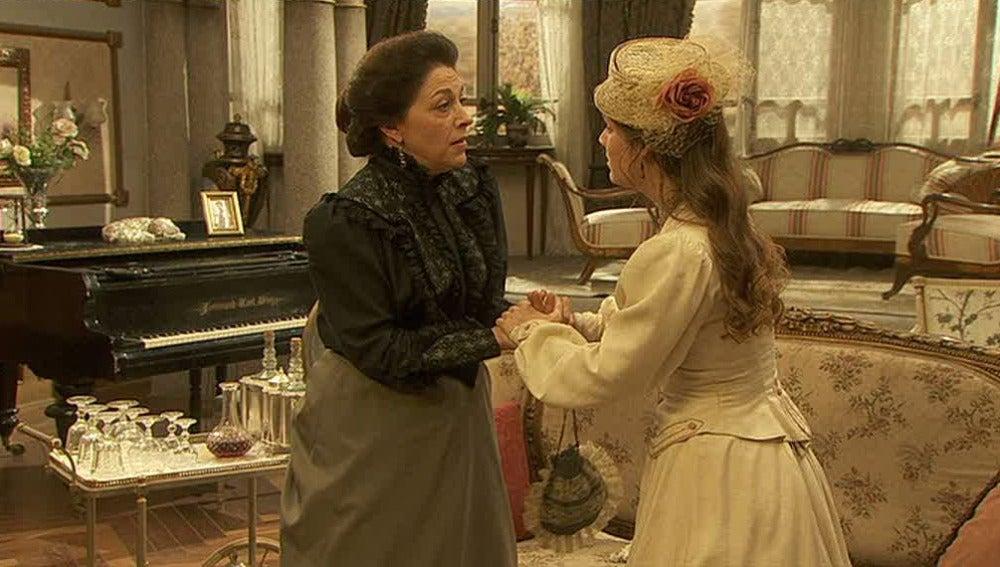 Soledad pide ayuda a su madre