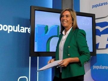 Ana Mato, en la sede del PP