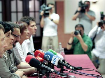 """La izquierda abertzale dice que los votos """"legitiman"""" su apuesta política"""