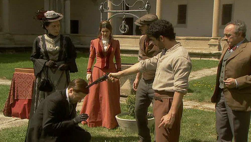 Juan desenmascara al Marqués en el duelo