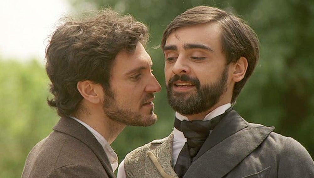 Alberto y Tristán enfrentados