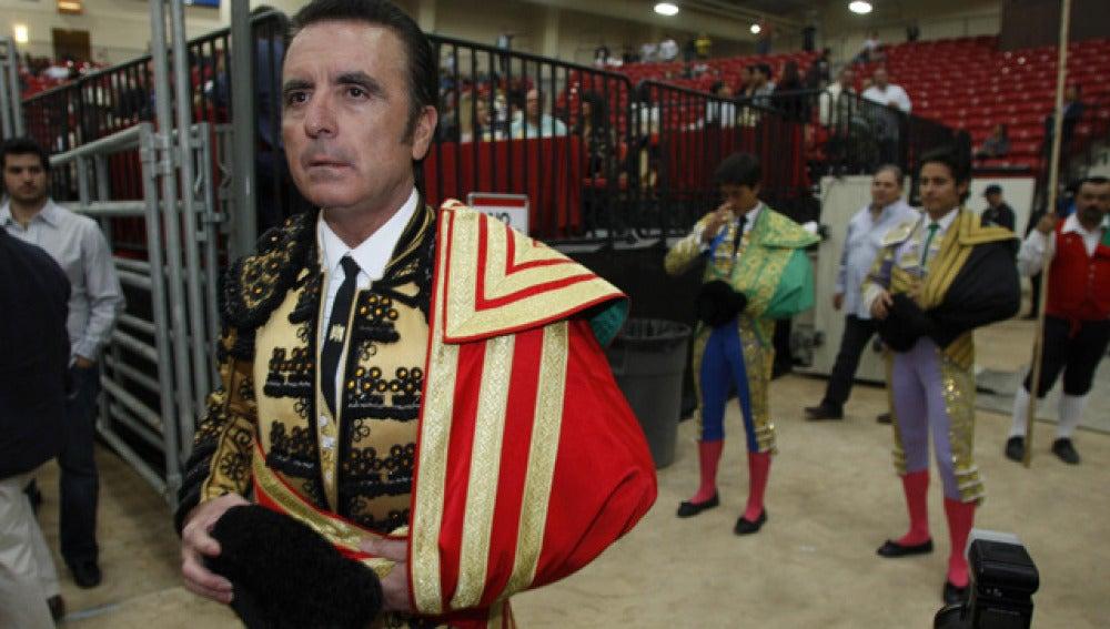 El diestro José Ortega Cano