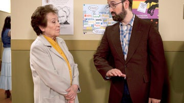 Amparo Baró es la antigua profesora de Gustavo