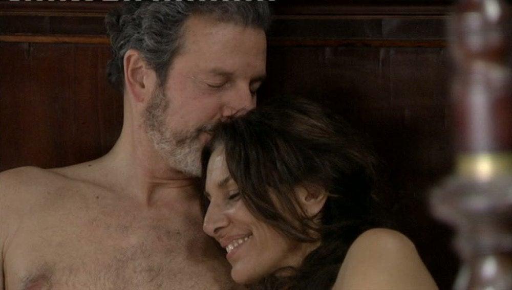 Carmen y Germán pura pasión entre sábanas